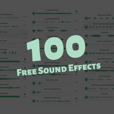 100 Free Sound FX